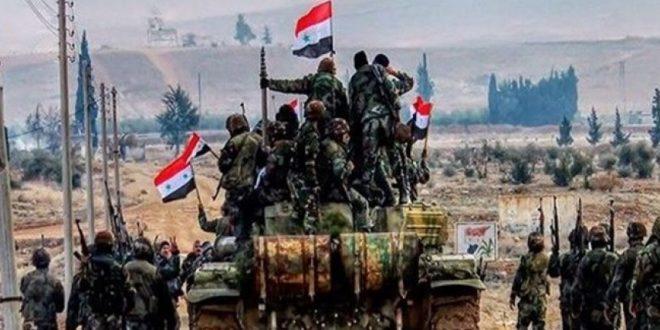 مواضع تروریستها در حلب و ادلب