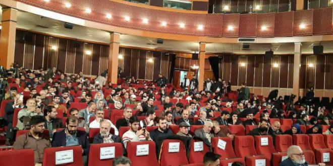 افتتاحیه دهمین جشنواره مردمی فیلم عمار