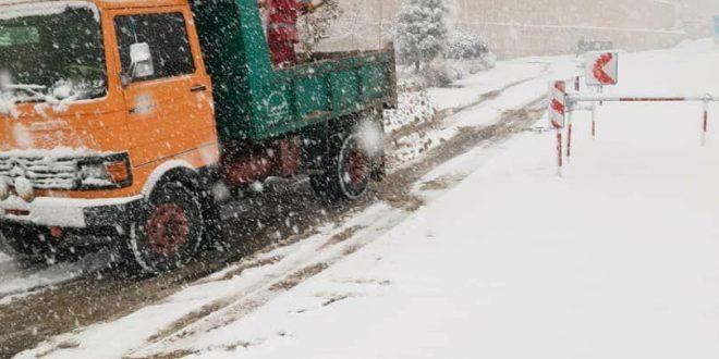 11سایت برف روبی در شمال تهران فعال است