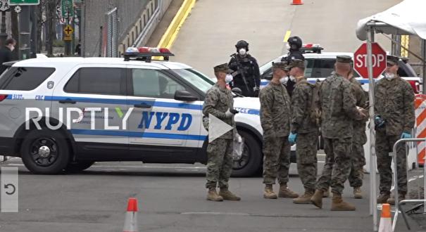 استقرار نیروهای ارتش در نیویورک