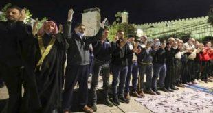 ورود نمازگزاران فلسطینی به مسجد ابراهیمی (ع)