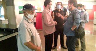 نمایشگاه نخستین سالانه رقابتی حروفنگاری «علی ولیالله» گشایش یافت