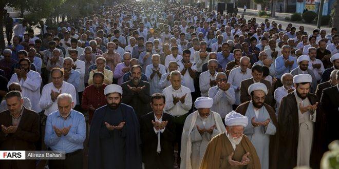 برگزاری نماز عید سعید فطر در مصلیهای مناطق سفید بلامانع است