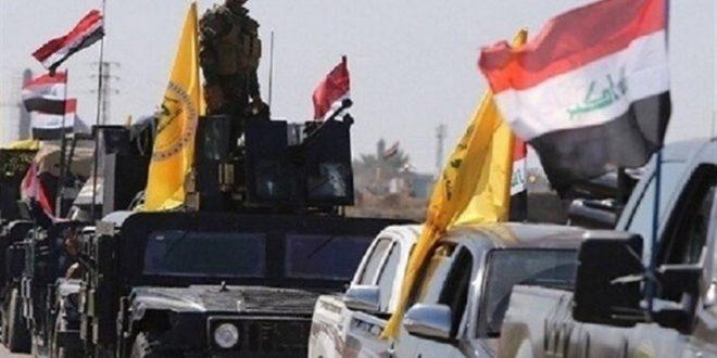 شهادت ۱۰ نیروی حشد شعبی در حمله داعش به اطراف سامراء