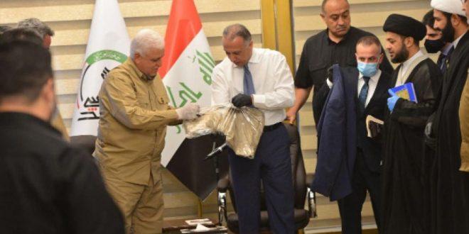 نخست وزیر عراق لباس سازمانی الحشد الشعبی را پوشید
