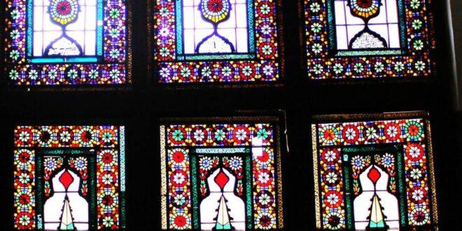 نقوش هندسی در ارسی خانۀ ابراهیمی اردبیل