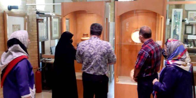 نمایشگاه 50سال هنر فلز کاری افتتاح شد
