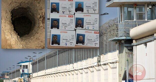 شش اسیر قهرمان زندان جلبوع